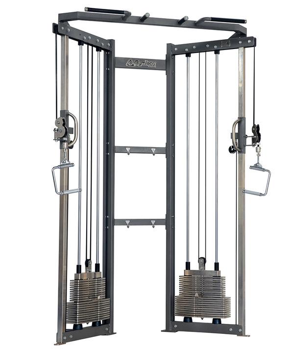 Parallelldrag 2x80 kg (ställbar trissa)