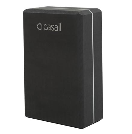 Yoga block Casall – Black/white