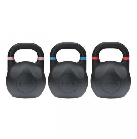 Kettlebell Competition Black 8-48 kg