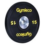 Gymleco Bumper vikter, svarta (50 mm Ø)