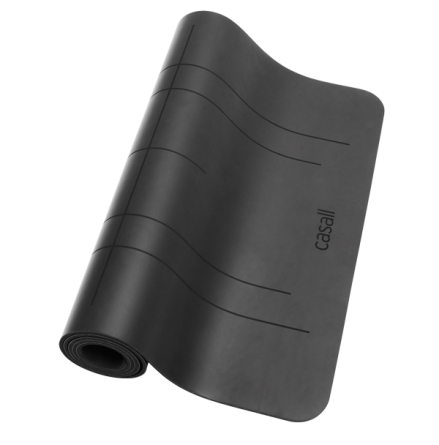 Casall Yoga mat Grip&Cushion III 5mm - Black POS