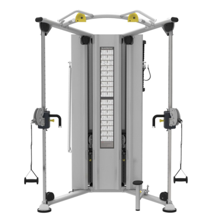 Dual Adjustable Pulley IT9530, 2x90 kg