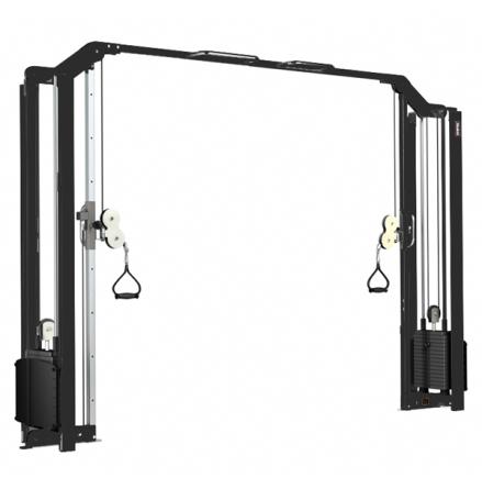 Kryssdrag 2x75 kg Gymleco, 3 höjder 200 / 209 / 225 cm / SLUT I LAGER - KONTAKTA OSS