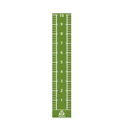 Konstgräs löparmatta Grön PU, 11x2 m, 15 mm