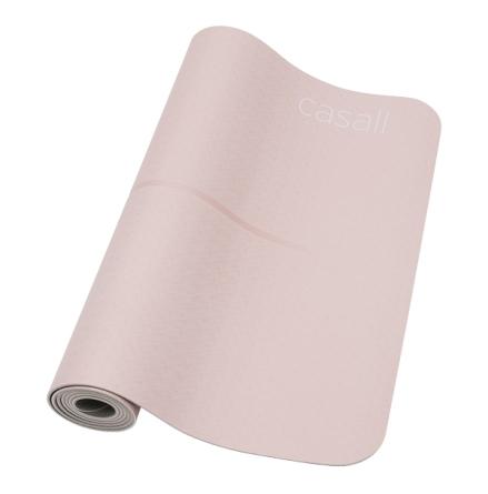 Casall Yoga mat Position 4mm - Lucky Pink/Grey